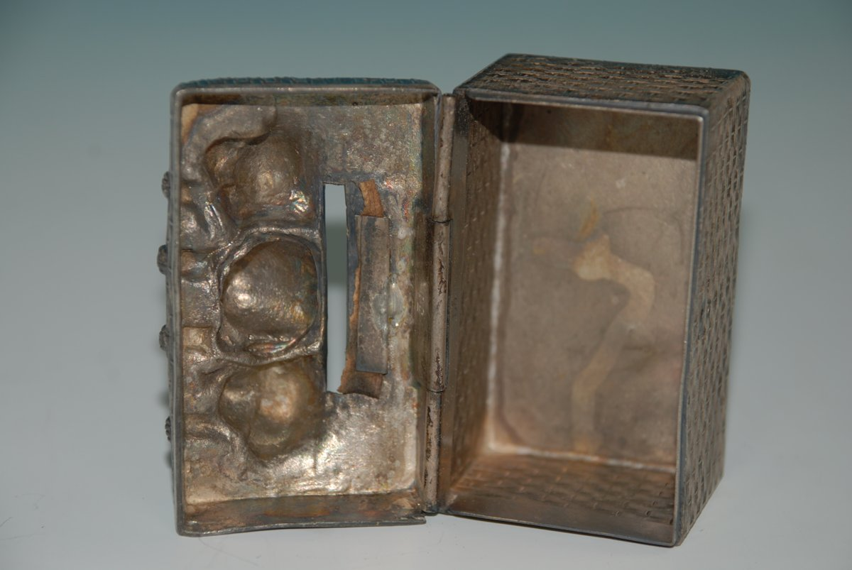 antique WMF money box * emu brand of * 3 dog pups in the ...